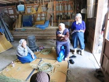 2016年2月12日「スゴ技を後世に おばあちゃんたちの「わら細工」」